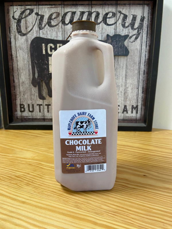 Maplehofe Chocolate Milk Half Gallon